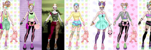 Pastel Zombie Dress up 2.... by LaKiraRee