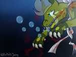 Drowning by ArtisticJessy
