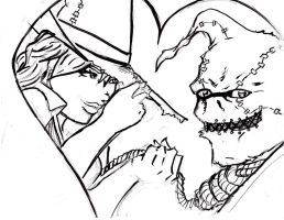 Scarecrow and Bella by jesusjr