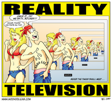 Reality Television by woohooligan