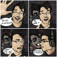 Interrupting Darkiplier by kotestrong