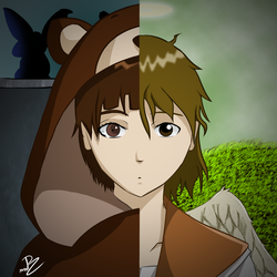 Serial Experiments Haibane Renmei by MrRudy