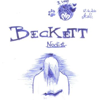 Beckett the Nodist by AshivaMoon