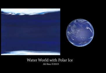 Water World with Polar Ice by Ali Ries 2019 by Casperium