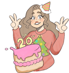 Happy 20th moi by Awesome-flower