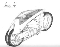 Typhoon Motorcycle by DissidentZombie