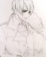 Sketch - Zen (Mystic Messenger) by YoungChanNguyen