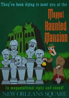 Muppet Haunted Mansion Poster 3 by Gr8Gonzo