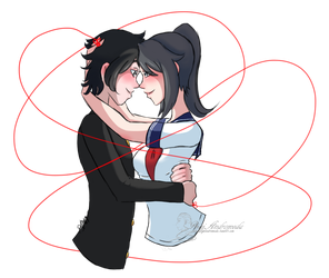 The Red String of Fate - Peaceful by DigiAndromeda