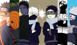 Obito and Kakashi this episode made me hate everything t