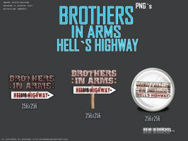 Brothers in Arms Hells Highway by 3xhumed