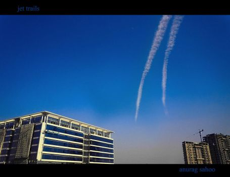Jet trails by kitu123