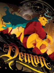 Etrigan the Demon by MikeMahle
