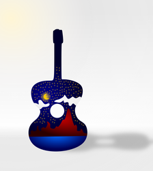 vectoral guitar illustration.png by xxqasimxx