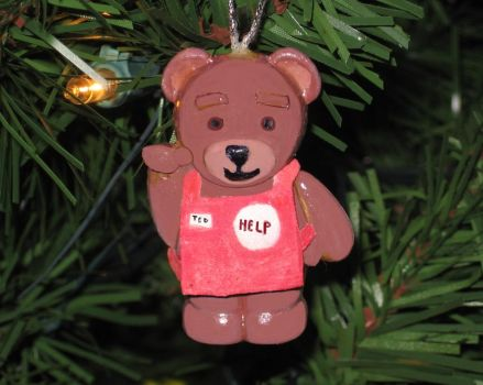 Ted  customized   christmas ornament by Barricade9-1-1