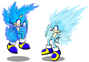 Burn and Frez the Hedgehogs by Arung98