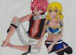 Natsu Lucy Fairy Tail by Lucy-chan90