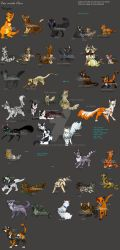 Warrior Cats -Kittypets by JB-Pawstep
