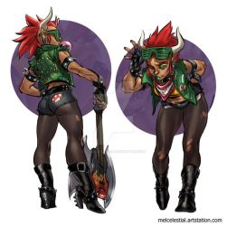 Punky Bowser by Celestial4ever