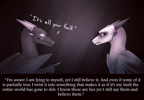 Everything will always be your fault. by Lamp-P0st