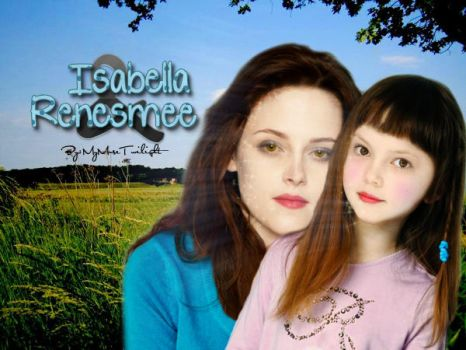Isabella and Renesmee Cullen by MyMuseTwilight