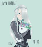 Happy Birthday Viktor by AntoBuni