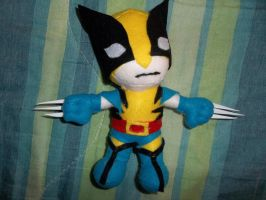 Wolverine plush by sevichan