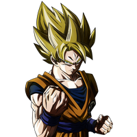 Back To The Classic. Goku SSJ by Koku78