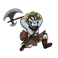 Grog Strongjaw by LizDoodlez