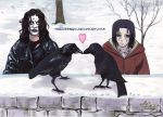 The crows in love by stellinanera