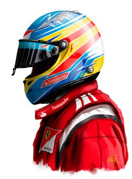 FERNANDO ALONSO by Magmarc