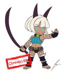 Commission: Ms Fortune feh style by borockman
