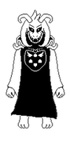 Custom God of Hyperdeath Sprite by Bluminescent