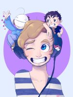 Pewds, Cry and Ken. by Magntaa