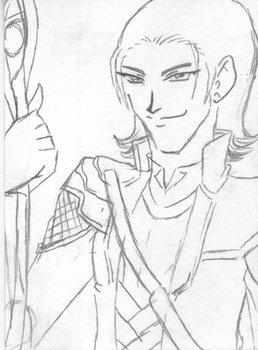 Artist Trading Card: Loki by SenSparda18