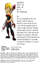 Sasha Reference Sheet by Thesimpleartist4