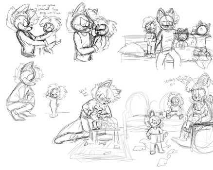 Axel Stream Sketches by CandiCindy