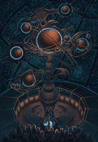 The lection in the Imperial Orrery by Lunar-N-Strain
