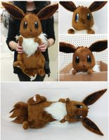 Eevee Plush by Cryptic-Enigma