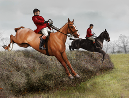 The Harpley Hunt - Leading the field by oingy-boingy