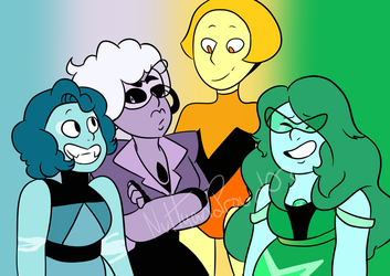 C.L.E.O Squad (Gift) by NuttyandProud03