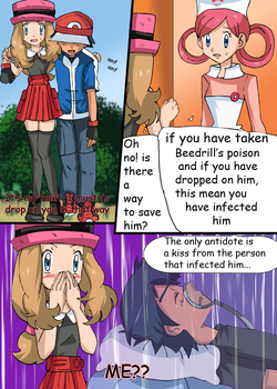 Love poison Amourshipping doujin 3 by hikariangelove