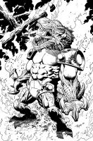 INV80 cover inked by RyanOttley