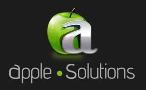 Apple Solutions Logo by azularts
