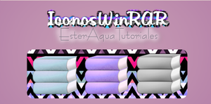 Iconos WinRAR by BellakysBlueTeam