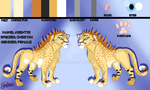 :GA: Ref-sheet for Arehtei by Shallur