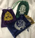 Tarot and Dice Bags by CeltysShadow