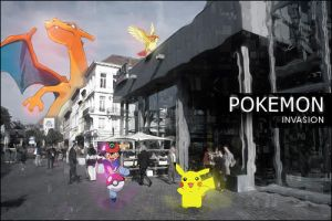 Pokemon Invasion by Pigma
