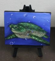 Mini Seaturtle by crazycolleeny