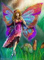 Forest Fairy by CazziArt